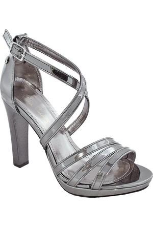Pierre Cardin 1004 Topuklu Kadın Ayakkabı Fume