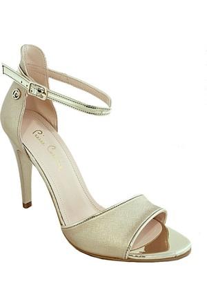 Pierre Cardin 71015 Topuklu Kadın Ayakkabı Altın