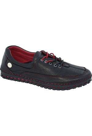 Mammamia D17Ya-770 Deri Kadın Ayakkabı Siyah