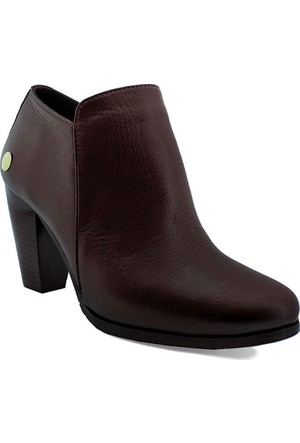 Mammamia D16Ya-3660 Deri Kadın Ayakkabı Bordo