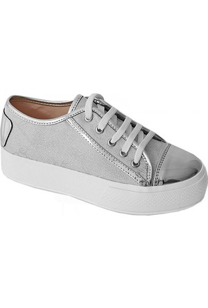 Pierre Cardin 46146 Kadın Ayakkabı Gümüş