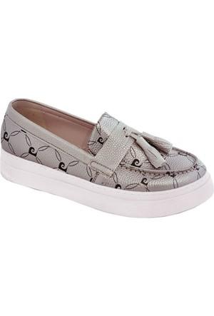 Pierre Cardin 70083 Kadın Ayakkabı Vizon