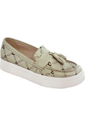 Pierre Cardin 70083 Kadın Ayakkabı Altın