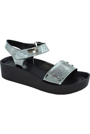 Stella 7040 Kadın Sandalet Gümüş