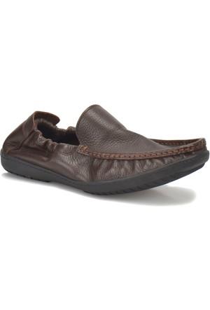 Flogart 110 M 1493 Kahverengi Erkek Deri Klasik Ayakkabı