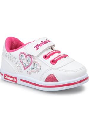 Polaris 72.507510.B Beyaz Kız Çocuk Sneaker Ayakkabı