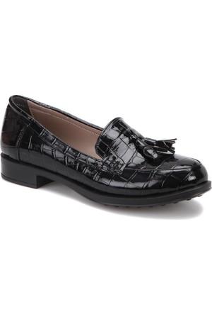 Butigo W245 Siyah Kadın Loafer Ayakkabı