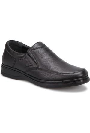 Polaris 5 Nokta 72.104304.M Siyah Erkek Deri Ayakkabı
