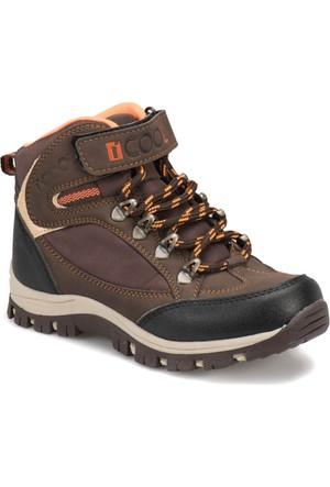 I Cool Ic102 Kahverengi Erkek Çocuk Outdoor Ayakkabı