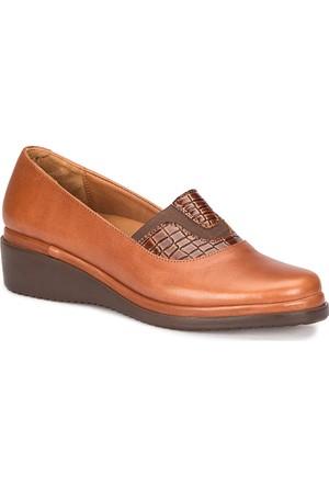 Polaris 5 Nokta 72.110070.Z Taba Kadın Deri Ayakkabı