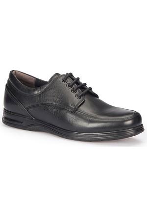 Polaris 5 Nokta 72.110321.M Siyah Erkek Deri Ayakkabı