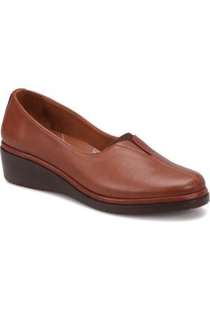 Polaris 5 Nokta 72.110069.Z Taba Kadın Deri Ayakkabı