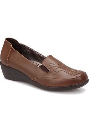 Polaris 72.158023.Z Taba Kadın Anne Ayakkabısı
