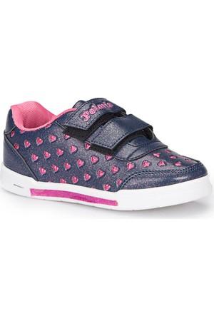 Polaris 72.509821.P Lacivert Kız Çocuk Sneaker Ayakkabı