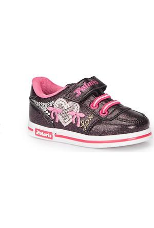 Polaris 72.509801.B Siyah Kız Çocuk Ayakkabı