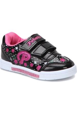 Polaris 72.509792.B Siyah Kız Çocuk Sneaker Ayakkabı