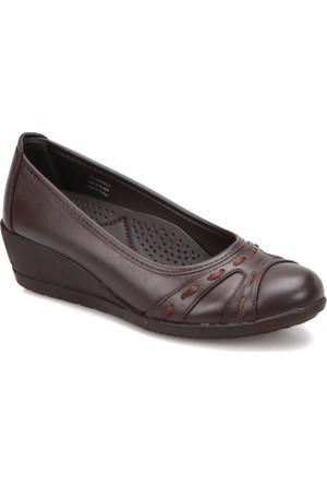 Polaris 72.158060.Z Kahverengi Kadın Anne Ayakkabısı