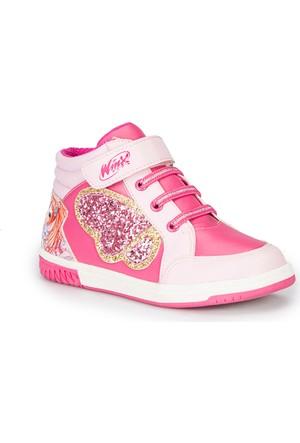 Winx Mendy Pembe Kız Çocuk Sneaker Ayakkabı