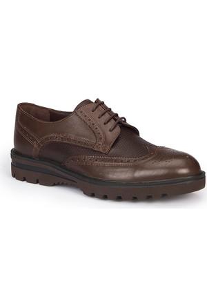 Mercedes Hansen Kahverengi Erkek Deri Ayakkabı