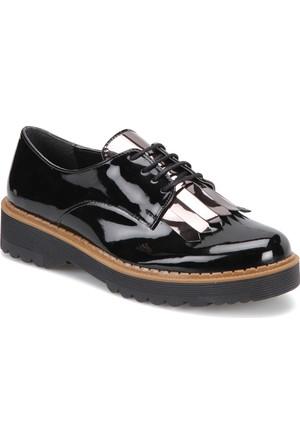 Butigo Z042 Siyah Kadın Maskulen Ayakkabı