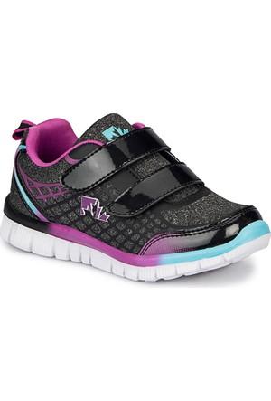 Lumberjack Lulu Siyah Kız Çocuk Sneaker Ayakkabı