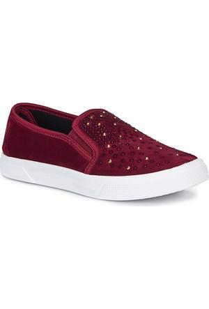 Polaris 72.311070.Z Bordo Kadın Ayakkabı