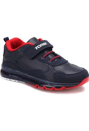 Torex Jerry Lacivert Kırmızı Erkek Çocuk Sneaker Ayakkabı