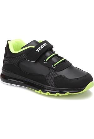 Torex Jerry Siyah Neon Sarı Erkek Çocuk Sneaker Ayakkabı