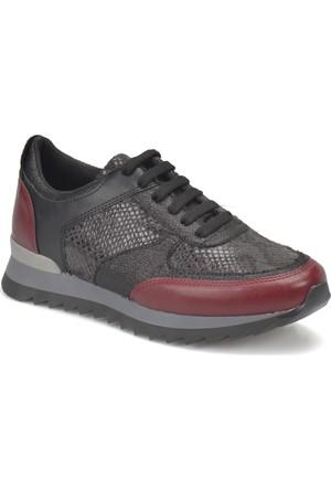 Butigo Z216 Bordo Kadın Sneaker Ayakkabı