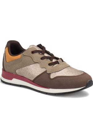 Butigo Z053 Kahverengi Kadın Sneaker Ayakkabı