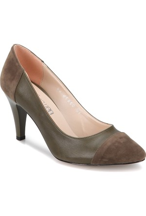 Butigo Z255 Haki Kadın 379 Ayakkabı