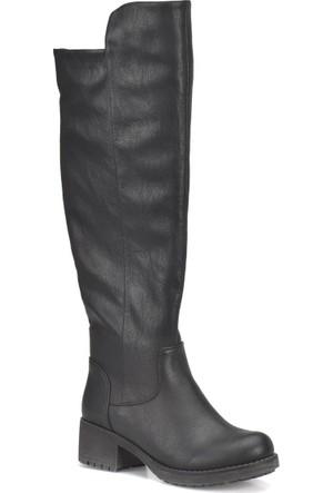 Art Bella Cw17071 Siyah Kadın Basic Casual Çizme
