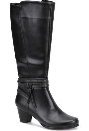 Miss F Dw17053 Siyah Kadın Basic Dress Çizme