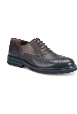 Garamond 50535 Haki Kahverengi Erkek Deri Ayakkabı