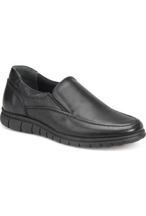 Flogart 67-1 M 1493 Siyah Erkek Deri Klasik Ayakkabı