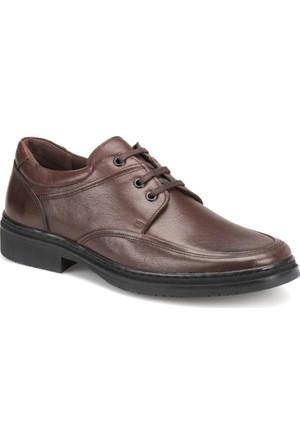 Flogart Dgn-10 M 1493 Kahverengi Erkek Deri Klasik Ayakkabı