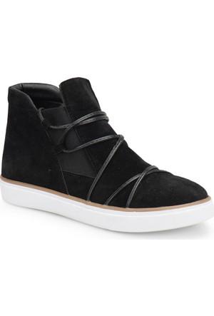 Butigo Z321 Siyah Kadın Sneaker Ayakkabı
