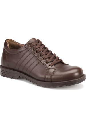 Oxide Au01 Kahverengi Erkek Deri City Ayakkabı