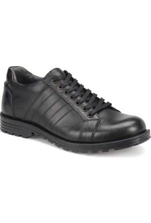 Oxide Au01 Siyah Erkek Deri City Ayakkabı