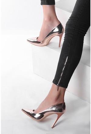 Pembe Potin Rose Ayakkabı
