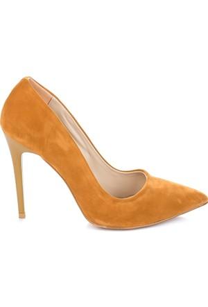 Pembe Potin Hardal Nubuk Ayakkabı