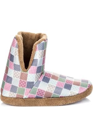 Pembe Potin Vizon Ev Ayakkabısı