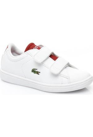Lacoste Carnaby Evo 317 1 Çocuk Beyaz Sneaker 734Spı0001.286