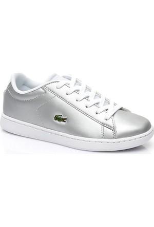 Lacoste Carnaby Evo 317 6 Çocuk Gri Sneaker 734Spc0006.334