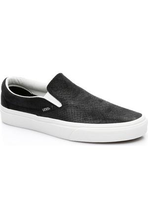 Vans Ua Classic Slip-On Kadın Siyah Sneaker Va38F7Os3