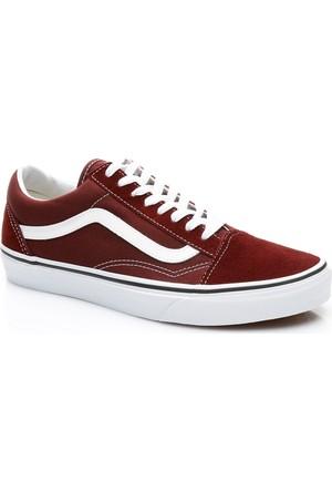 Vans Ua Old Skool Unisex Bordo Sneaker Va38G1Ovk