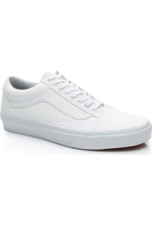Vans Ua Old Skool Unisex Beyaz Sneaker Va38G1Odj