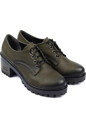 Gön Kadın Ayakkabı Haki 40106