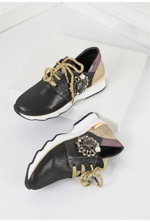 İlvi Samuel GM-1013 Ayakkabı Füme
