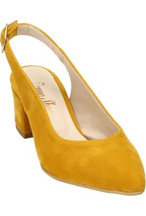 Ayakkabı - Hardal Süet - Zenneshoes